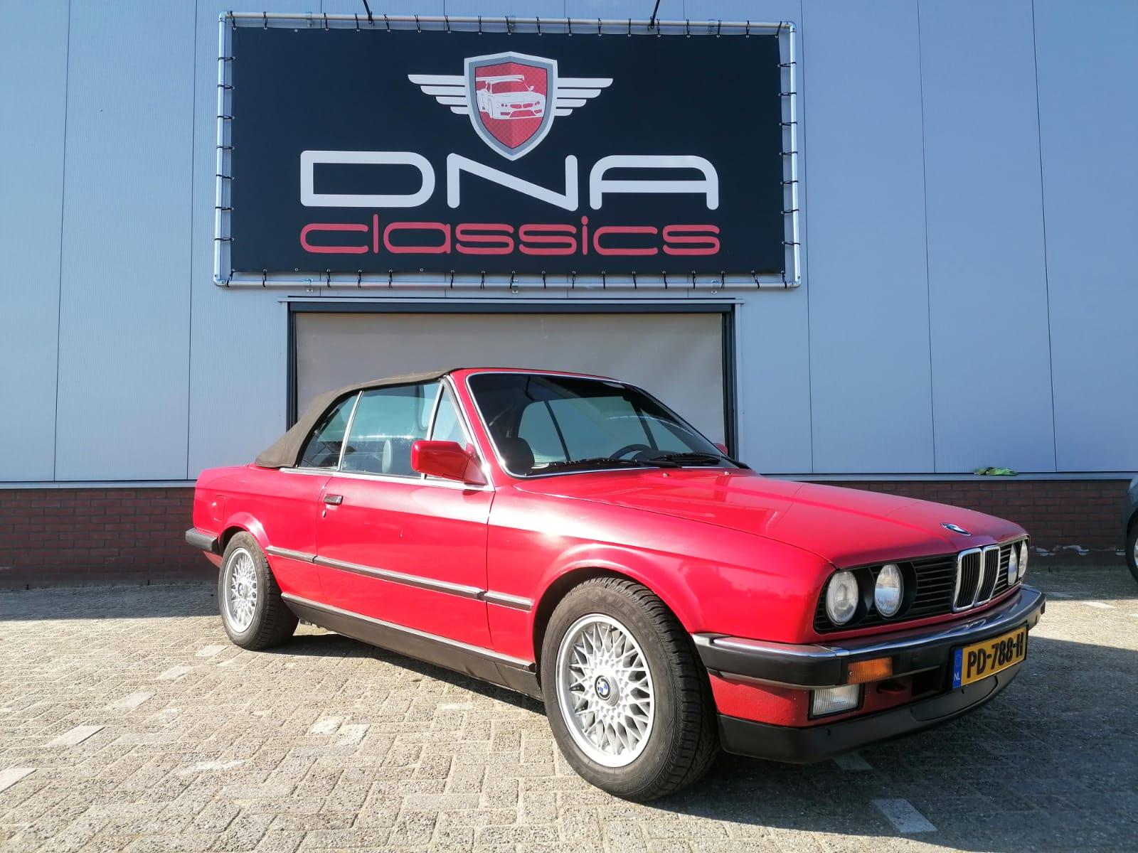 BMW 3 serie 320i cabrio 2,5L bouwjaar 1990
